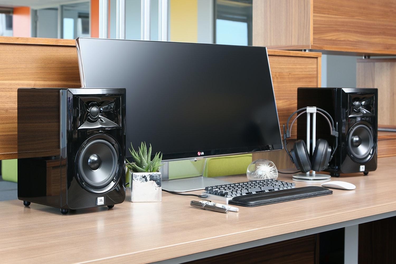 Massdrop x JBL LSR30X Powered Speakers