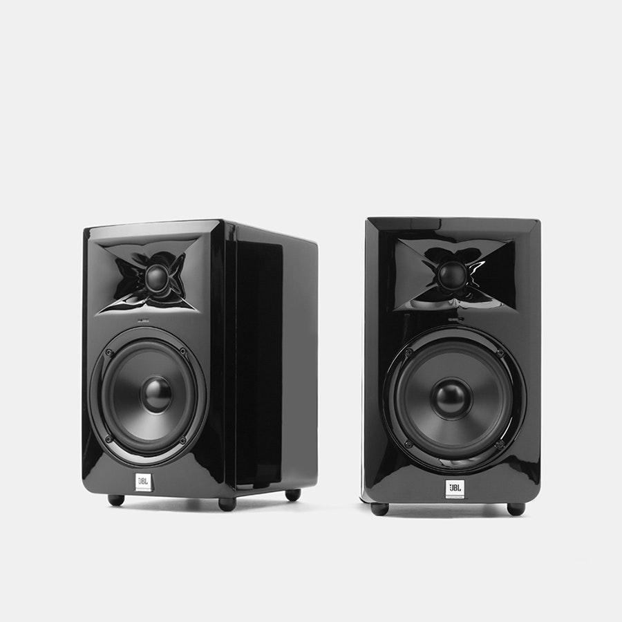 jbl 305 white. massdrop x jbl lsr30x powered speakers jbl 305 white