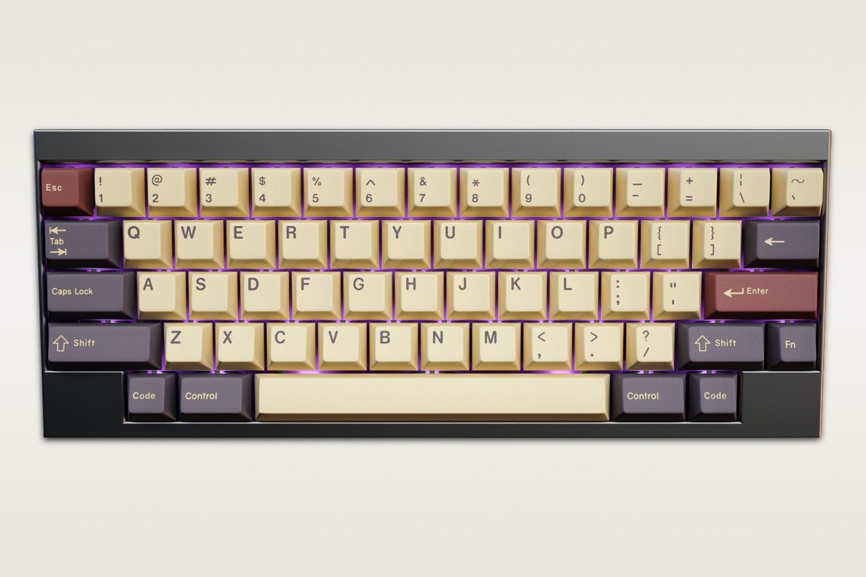 Massdrop x Jessica GMK Plum Custom Keycap Set