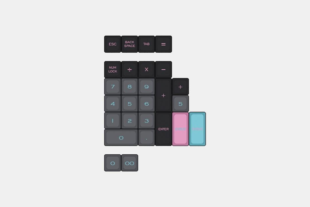 Massdrop x K Bares Miami Dolch DSA Keycap Set