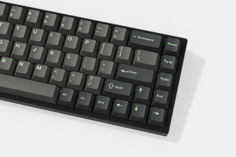 Massdrop x Livingspeedbump GMK Mint Dolch Keycaps