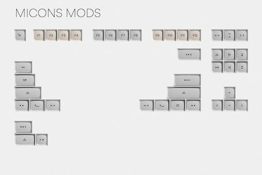 Massdrop x MiTo XDA Canvas Custom Keycap Set