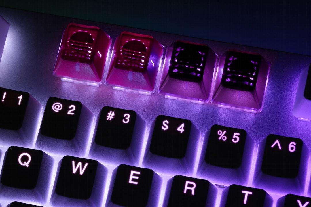 Massdrop x MiTo Laserwave GMK Translucent Keycaps
