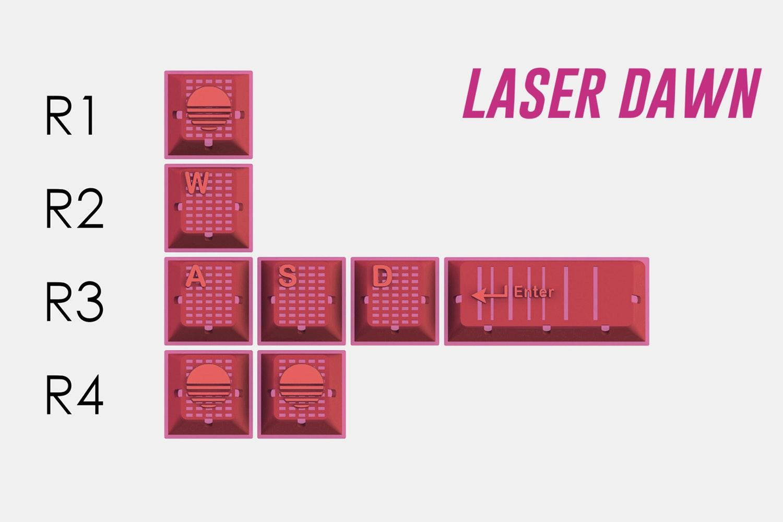 Laser Dawn (pink)
