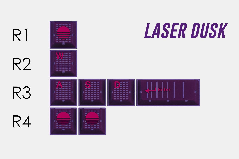 Laser Dusk (purple)