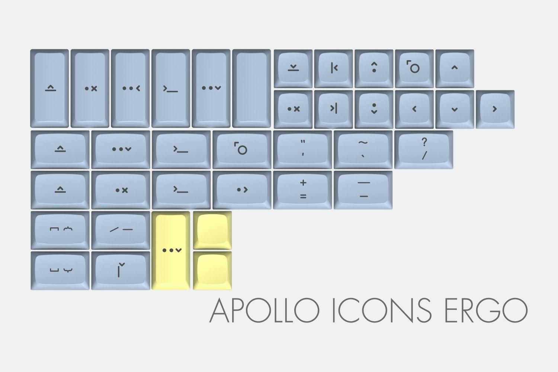 Massdrop x MiTo XDA Godspeed Custom Keycap Set