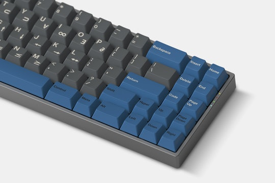 Massdrop x Oblotzky GMK Space Cadet Keycap Set