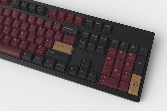 Drop + RedSuns GMK Red Samurai Custom Keycap Set