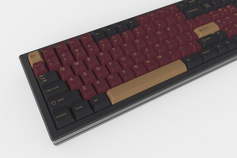 Massdrop x RedSuns GMK Red Samurai Custom Keycaps