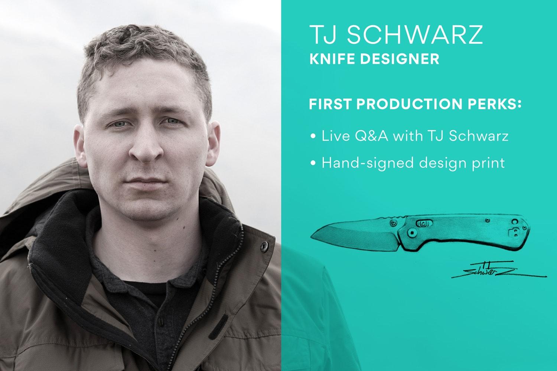 Massdrop x Schwarz Perpetua EDC Folding Knife