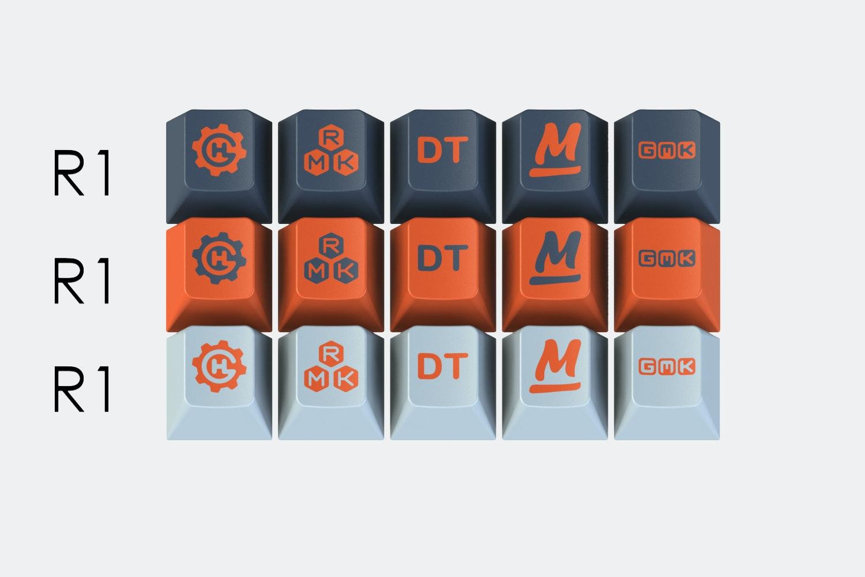 Massdrop x T0mb3ry GMK Yuri Custom Keycap Set