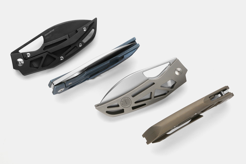 Massdrop x Tashi Bharucha Prism Folding Knife
