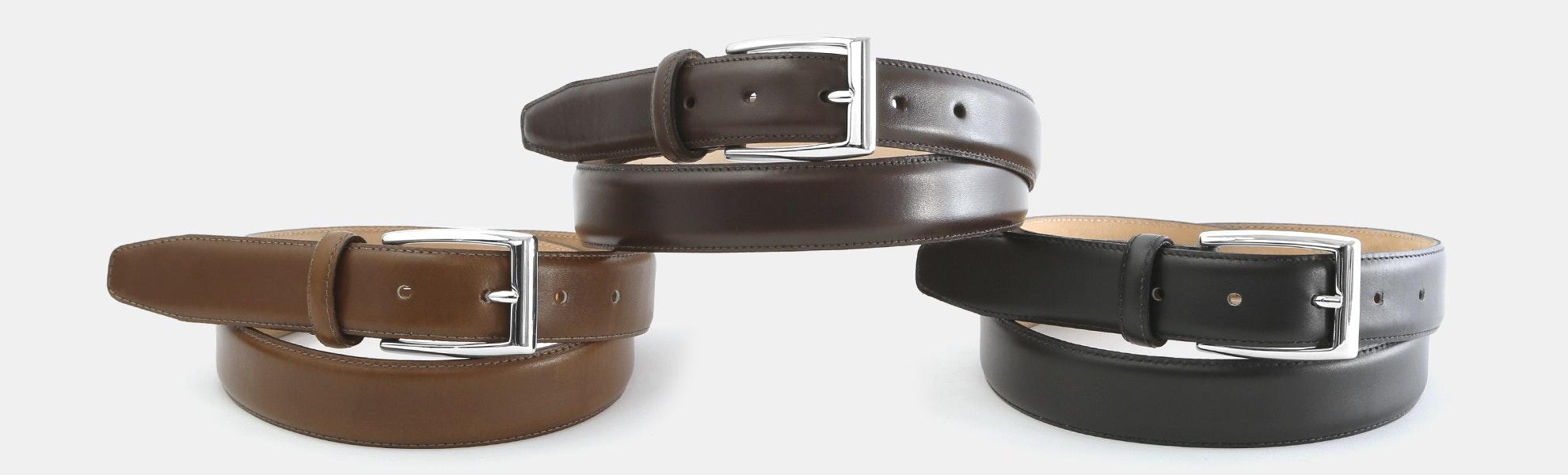 Massdrop x The British Belt Co. Dress Belt