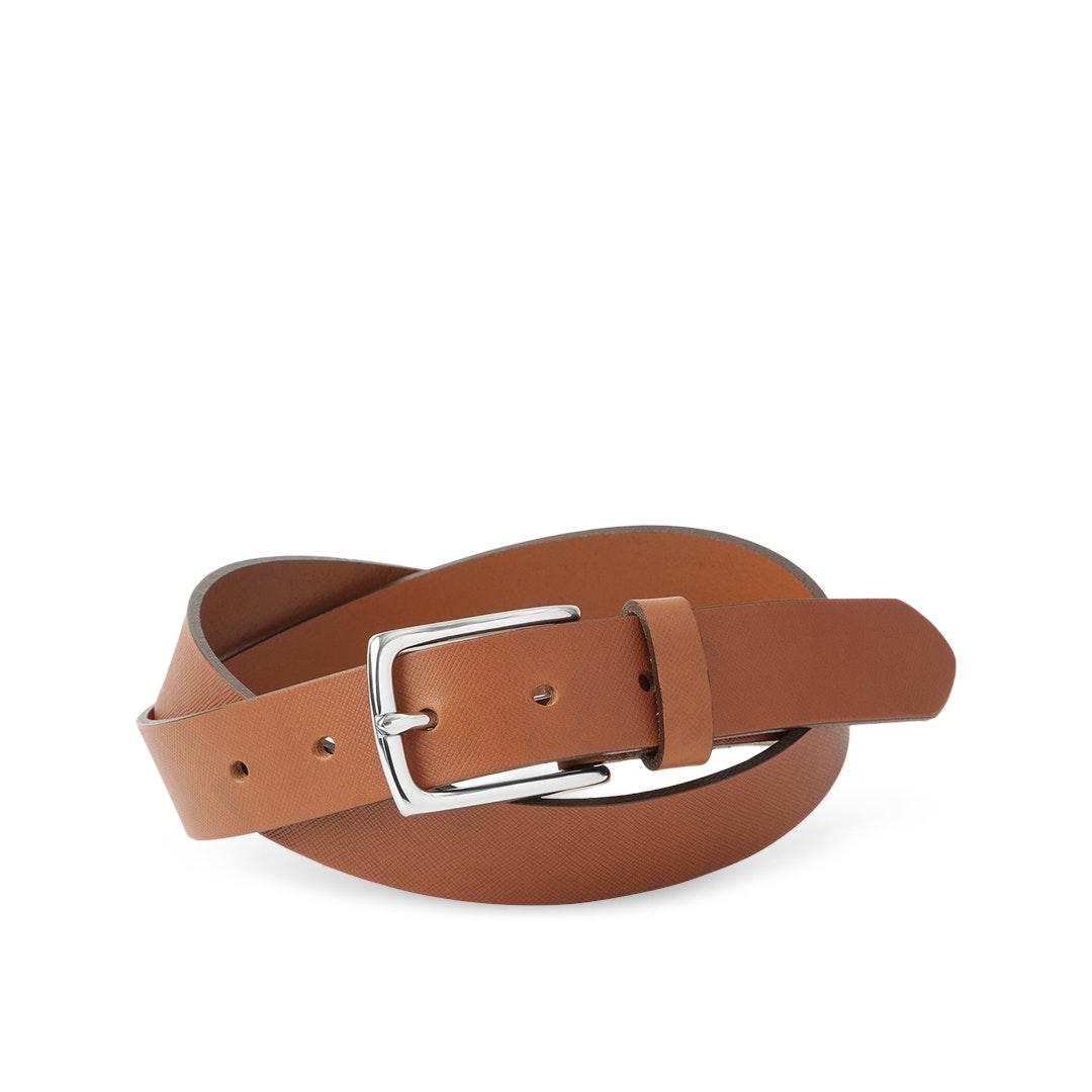 Massdrop x The British Belt Co. Siena Saffiano Belt