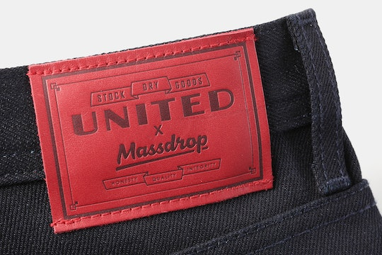 Massdrop x USDG 14oz Navy Selvage Denim