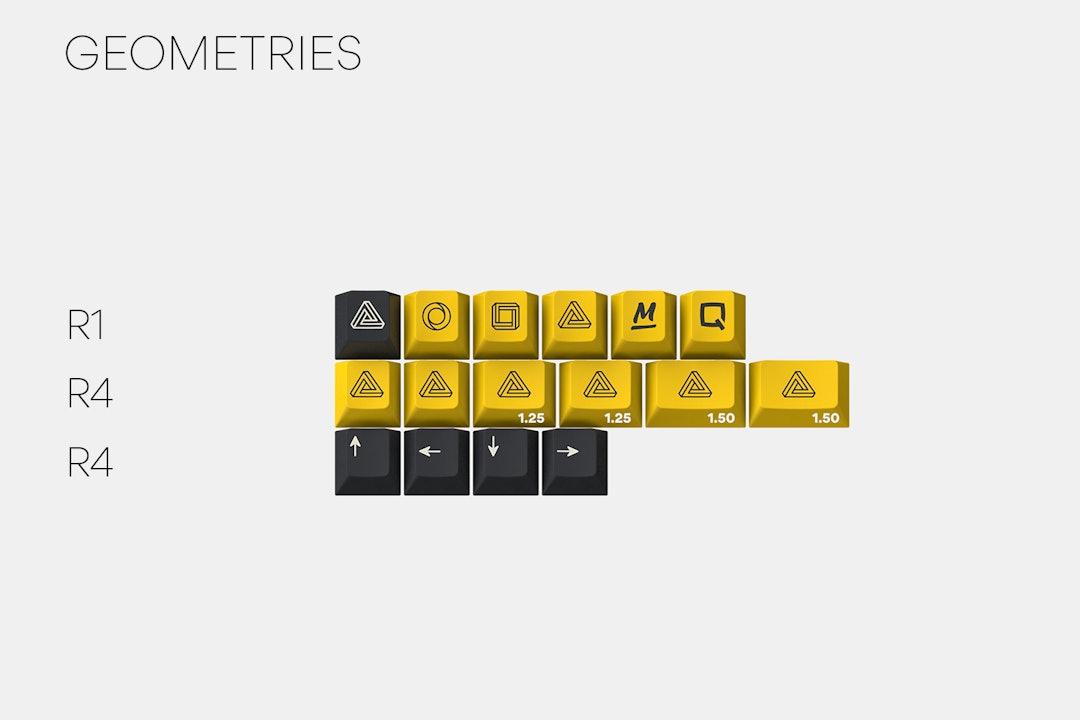 Massdrop x Zambumon GMK Serika Custom Keycap Set