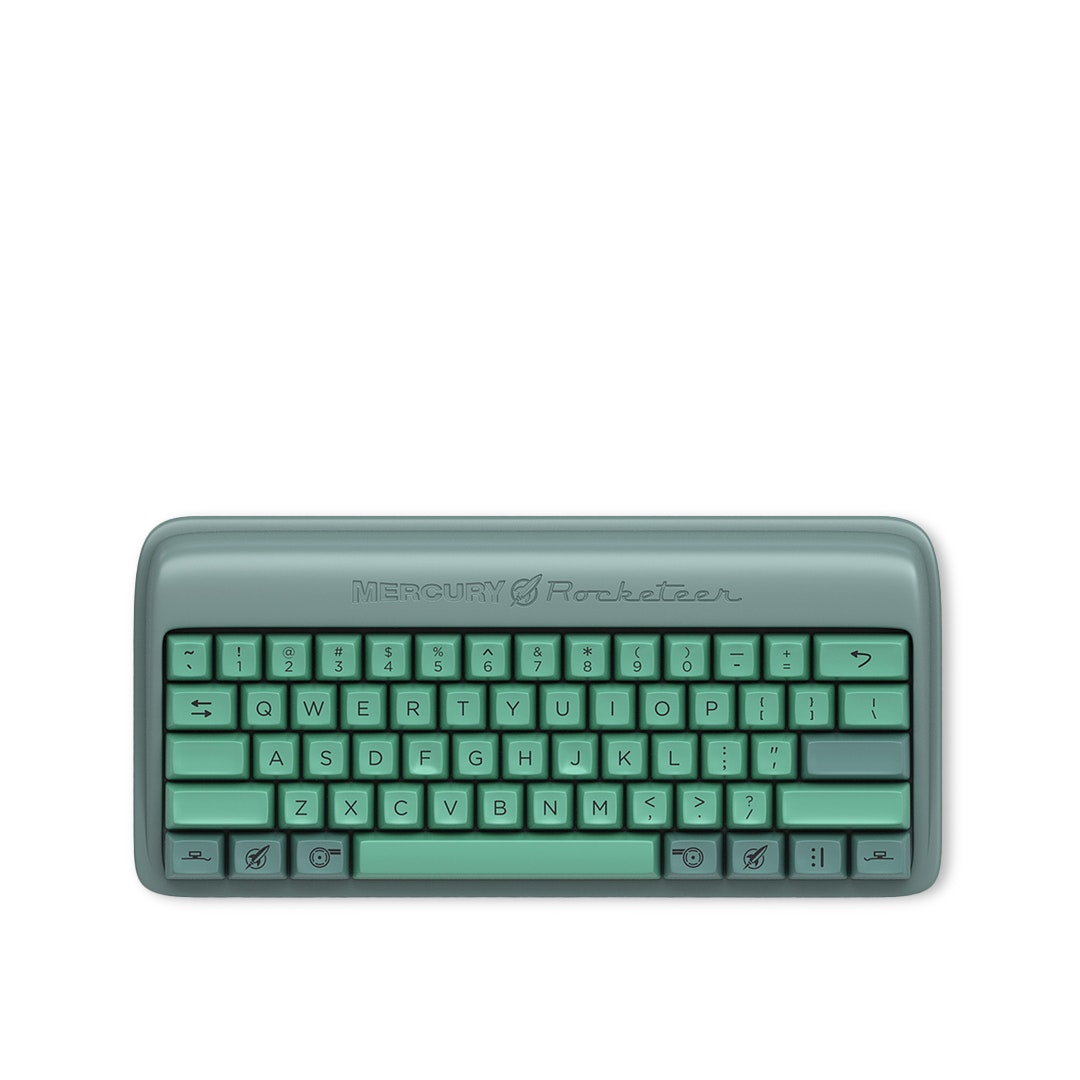 Massdrop x Zslane Mercury Rocketeer Keyboard