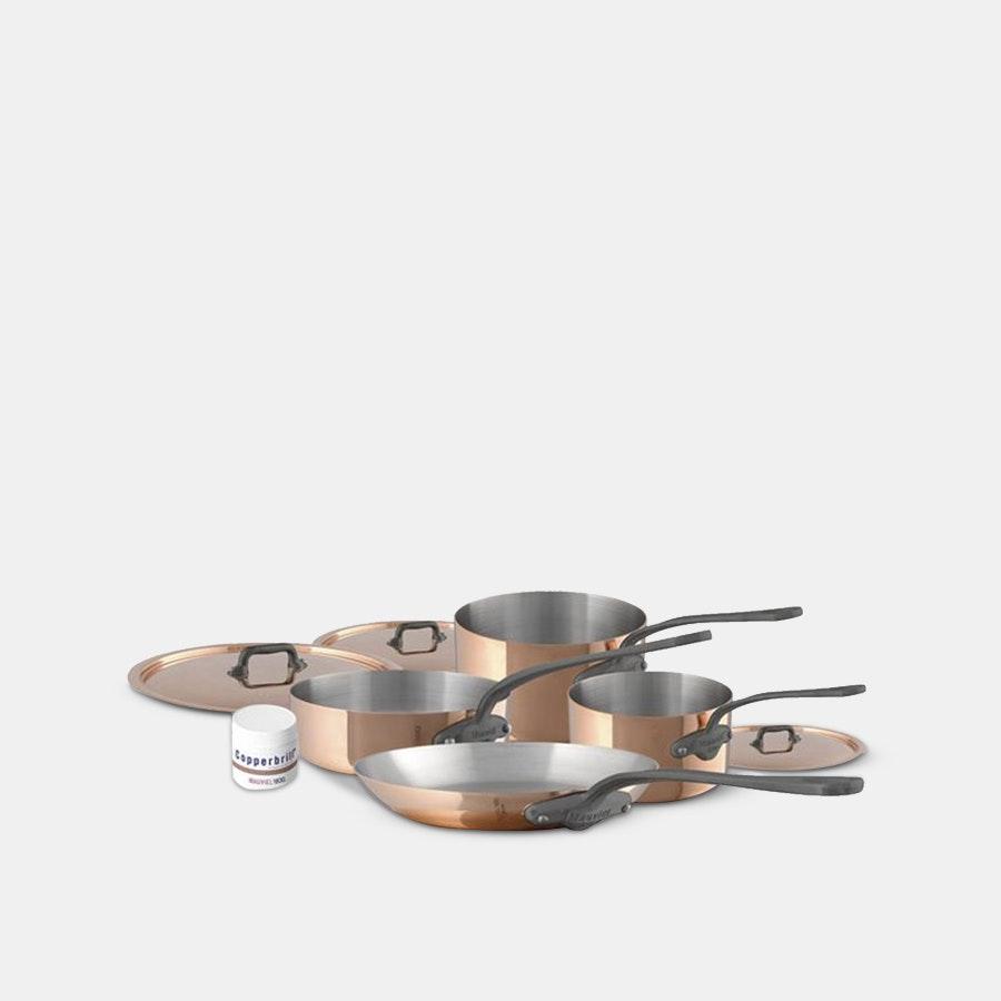 Mauviel M'150C 7-Piece Cookware Set
