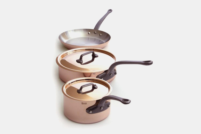 Mauviel M'250C Cookware Sets