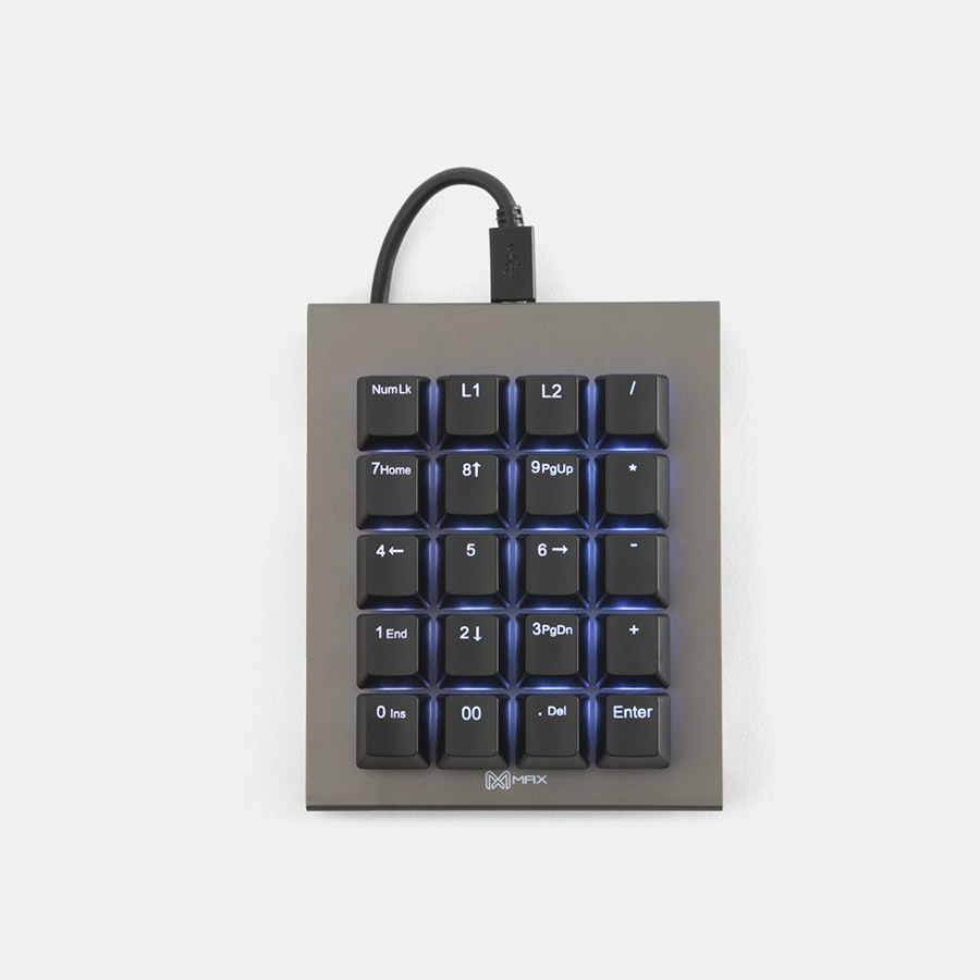 Max FALCON-20 RGB Programmable Mini Macropad