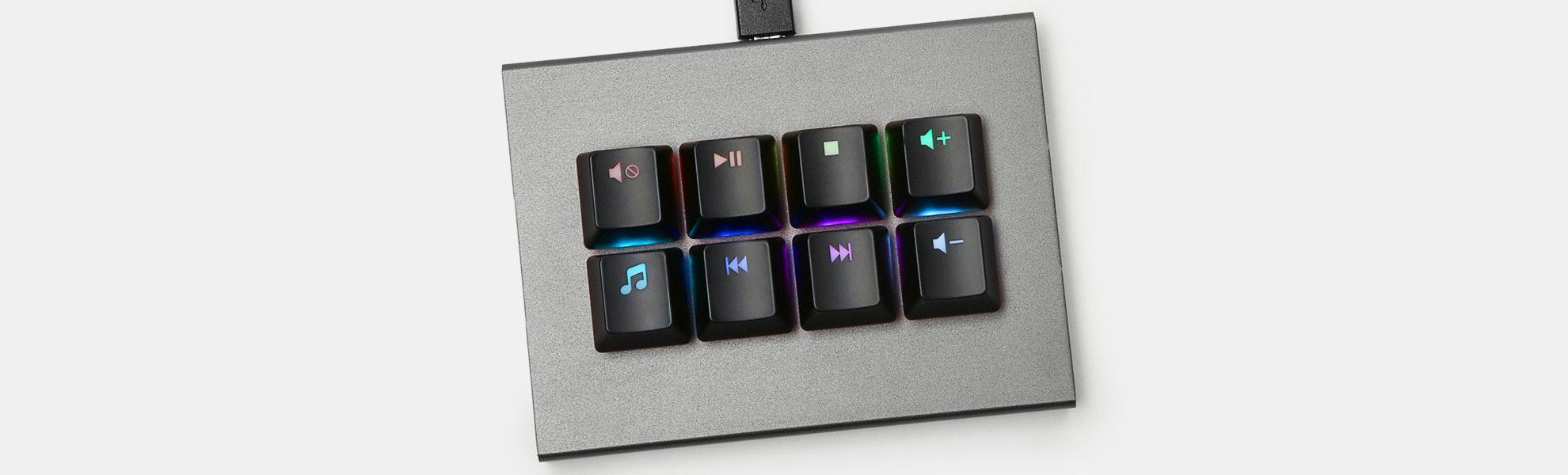 MAX Falcon-8 RGB Custom Programmable Mini Macropad