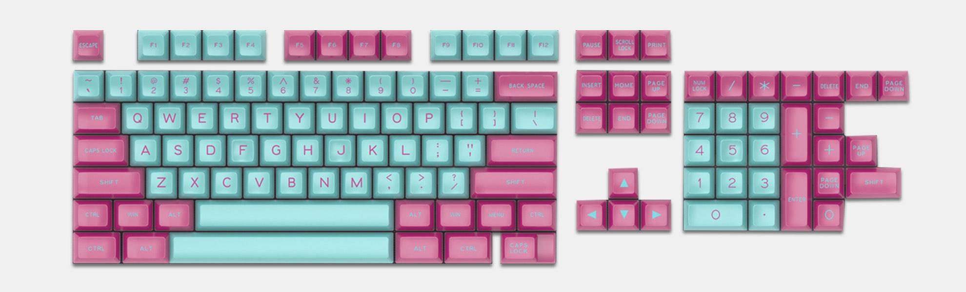 MAXKEY Miami SA Keycap Set