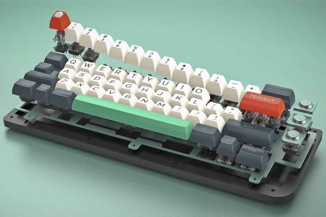 Maze Custom Keyboard Kit by Percent Studio