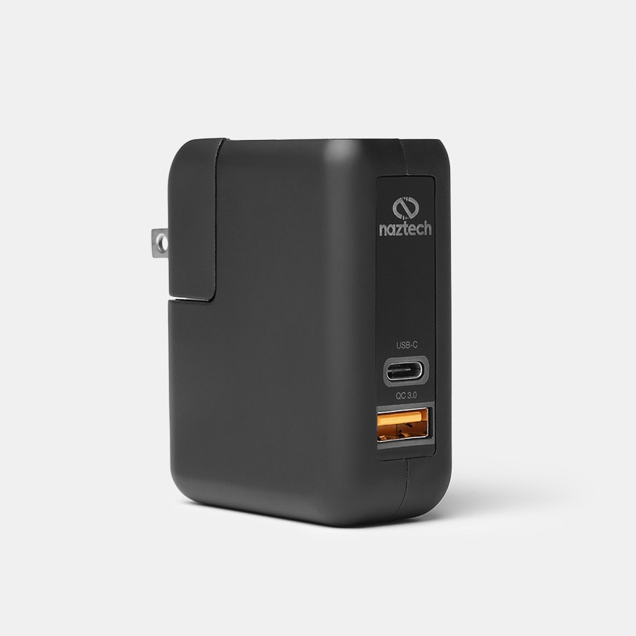 Naztech QC 3.0 + USB-C Wall Charger