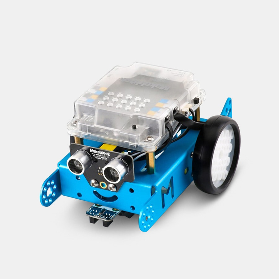 mBot v1.1 - Blue (Bluetooth or 2.4Ghz Version)