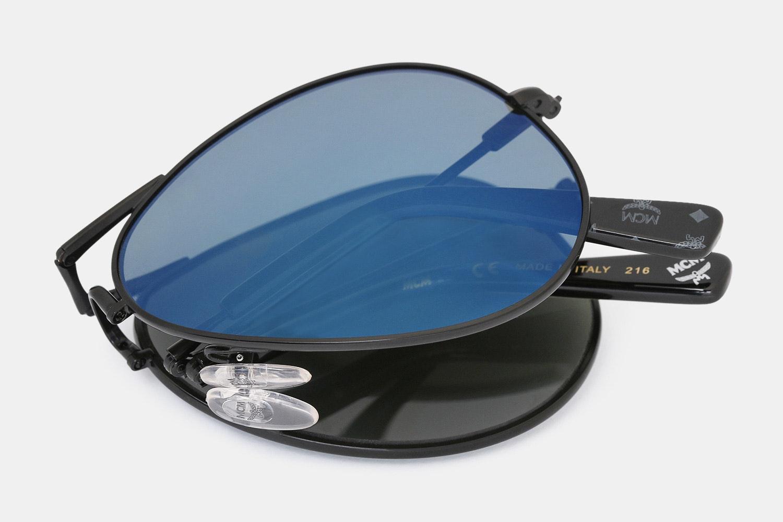 MCM Folding Aviator Sunglasses
