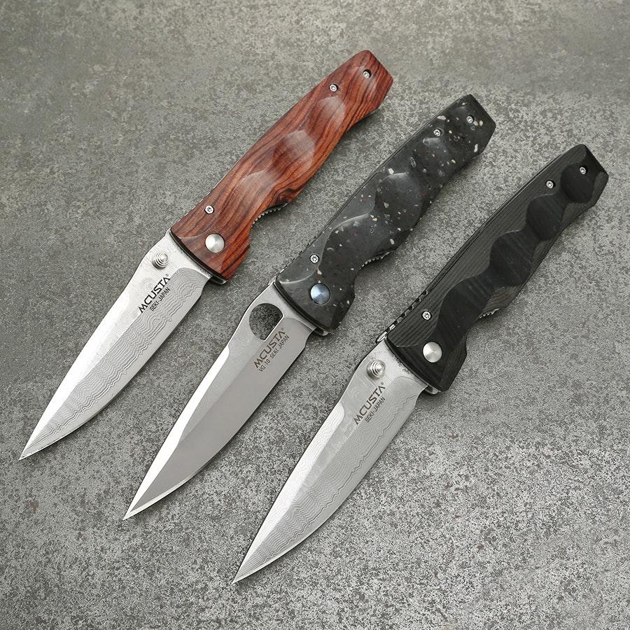 Mcusta MC-12 Tactility Elite Folding Knife