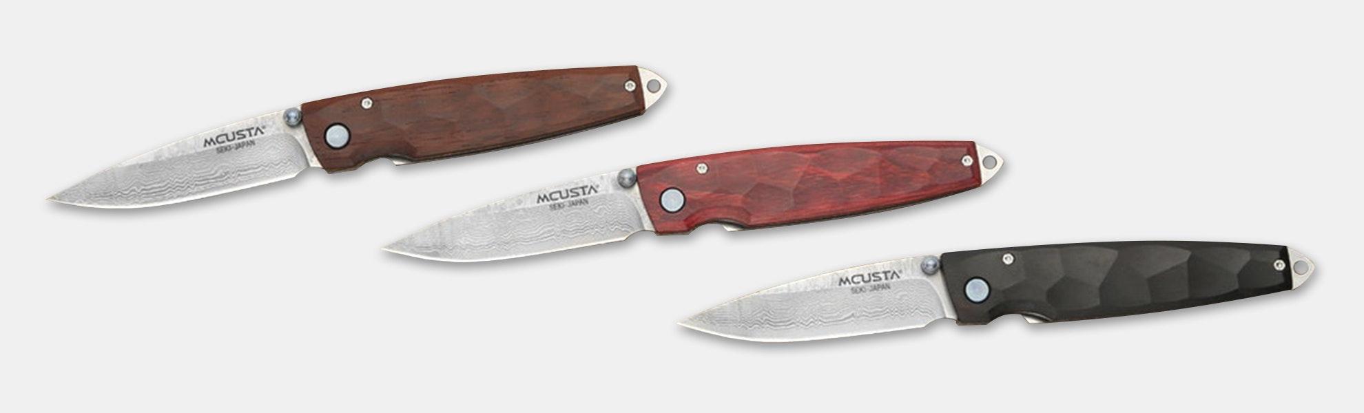 Mcusta MC-7 Tsuchi VG-10 Damascus Folding Knife