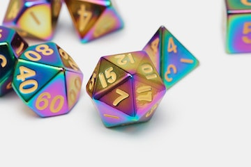 MDG Flame-Treated Polyhedral Set