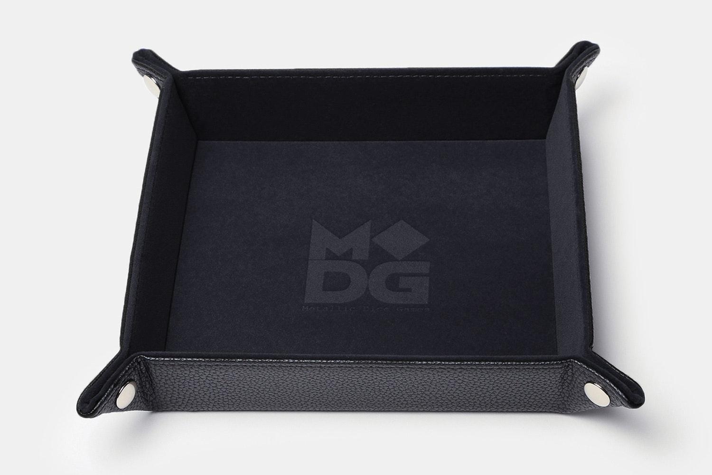 MDG Folding Velvet Dice Trays (2-Pack)