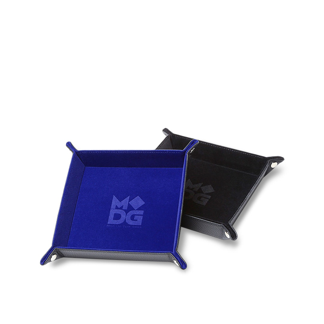 MDG Folding Velvet Dice Trays (2-Pack)