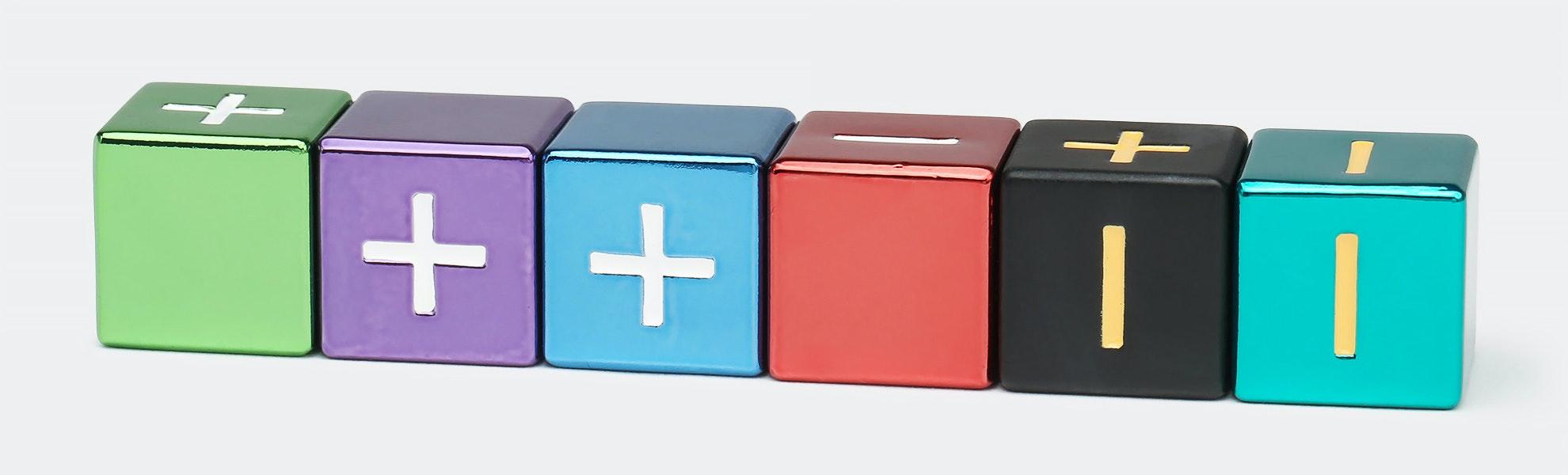 MDG Metallic Fate Dice Assorted Colors Set