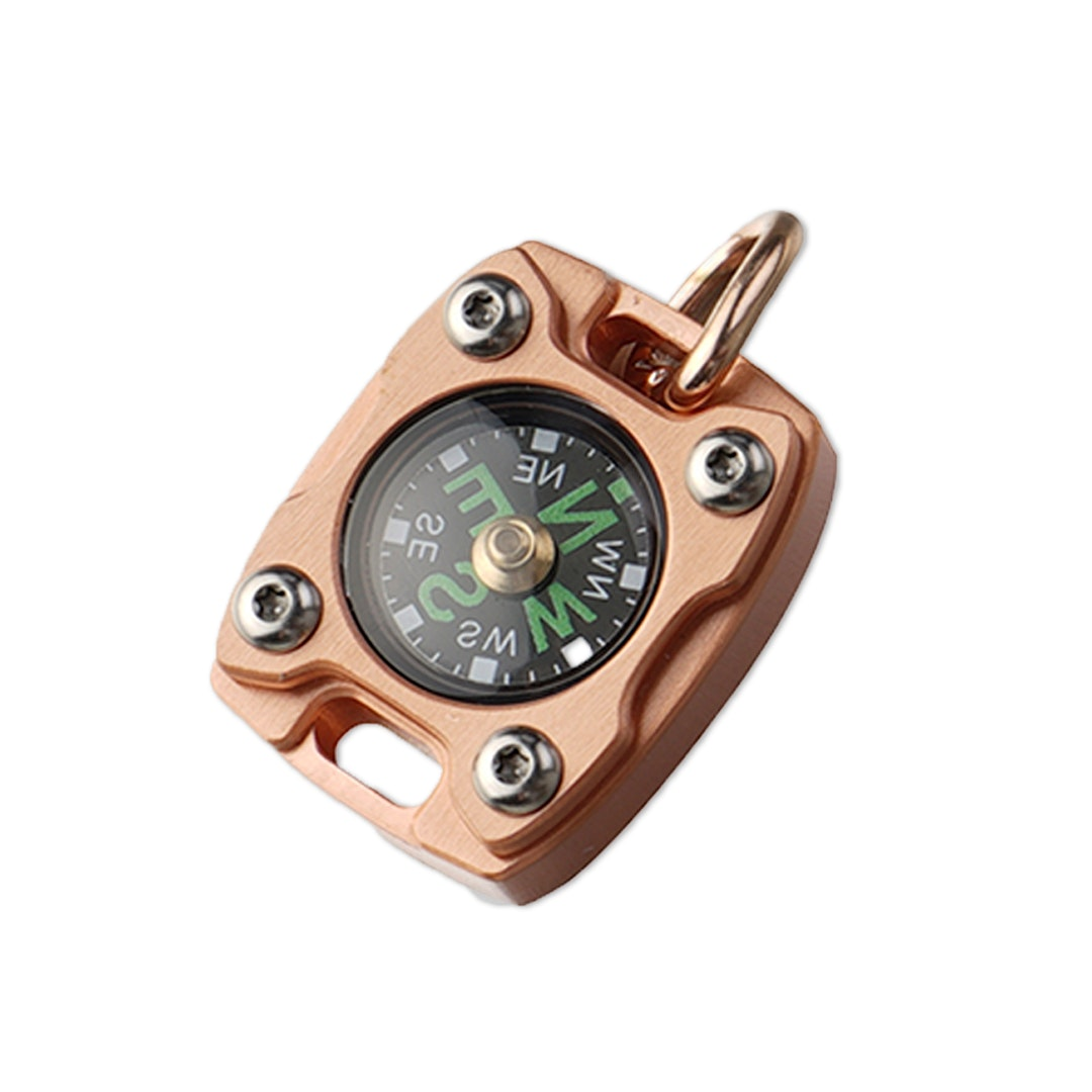 MecArmy CMP2 Compass (Brass/Copper/Titanium)