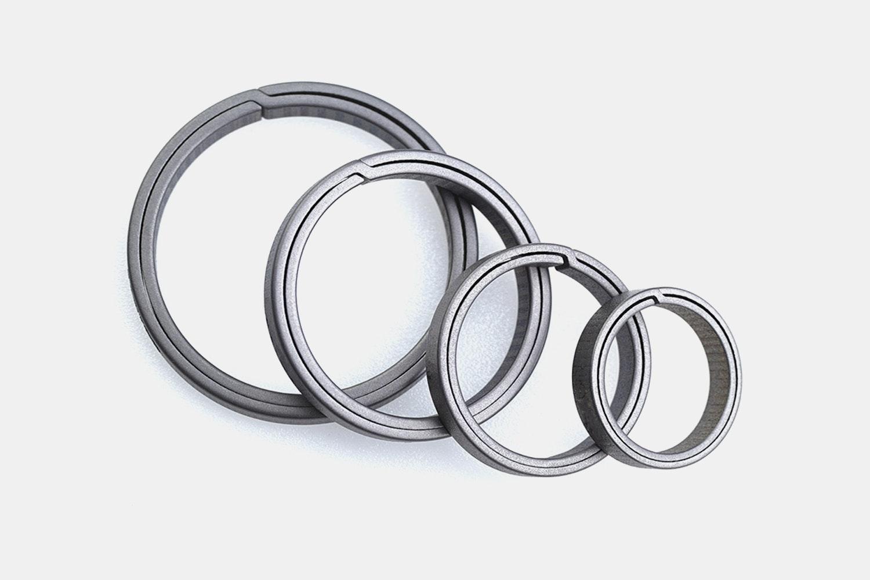 Optional Titanium Keyrings (4-Pack) (+$14)