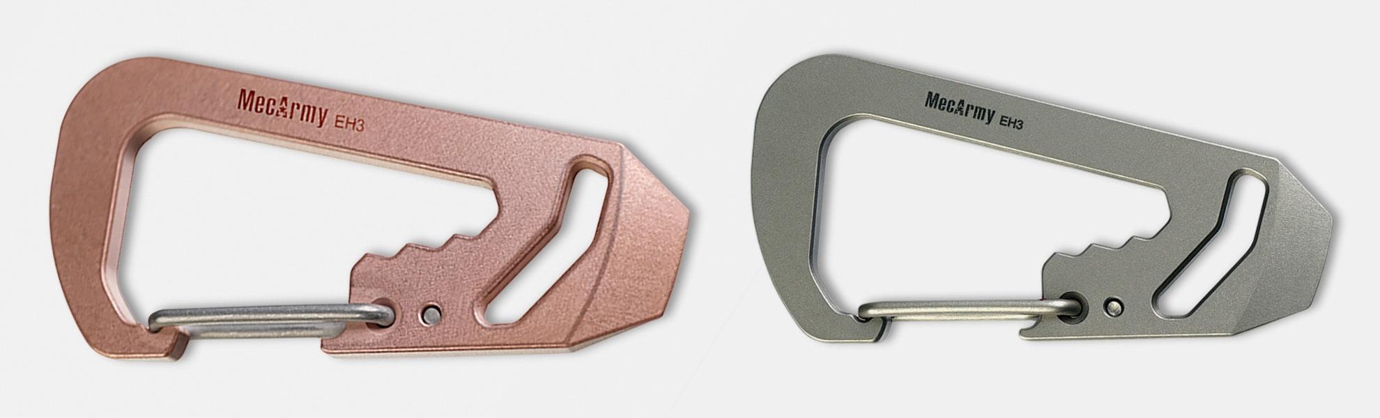 MecArmy Copper & Titanium Multifunctional Carabiner