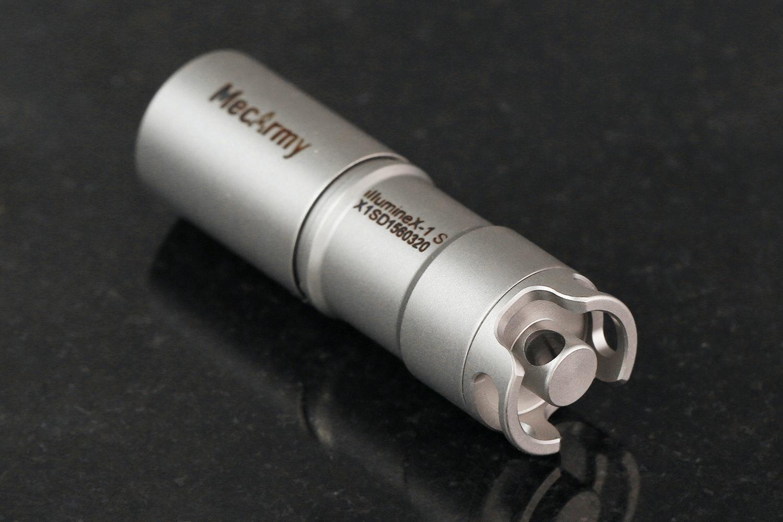 MecArmy Illuminex-1 Titanium Flashlight