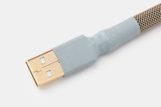 Mechcables Canvas Custom-Sleeved USB Cable