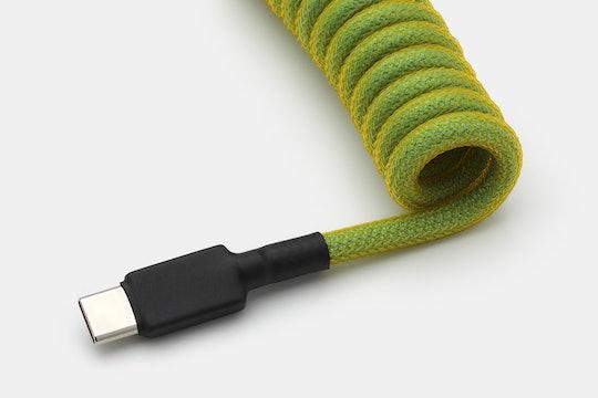 Mechcables Cyberpunk Custom Coiled Aviator USB Cable