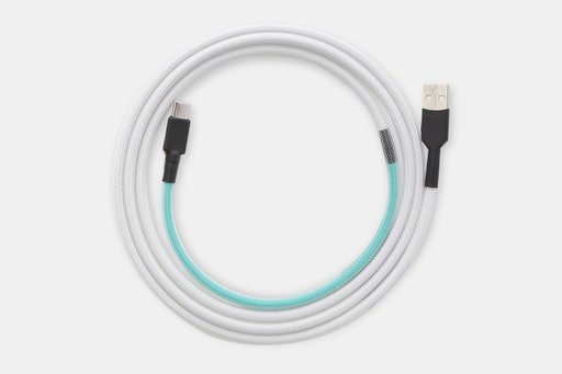 Mechcables /dev/tty Light Custom-Sleeved USB Cable