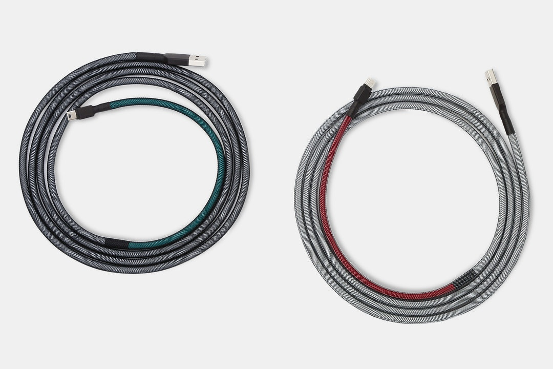 Mechcables /dev/tty MT3 Custom-Sleeved USB Cable