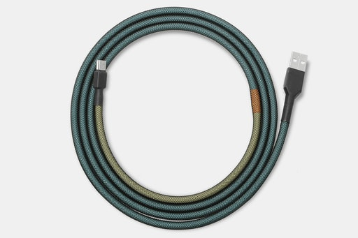 Mechcables Glimy Custom-Sleeved USB Cable
