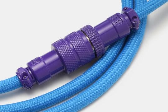 Mechcables Joker Aviator Custom-Coated Coil USB Cable