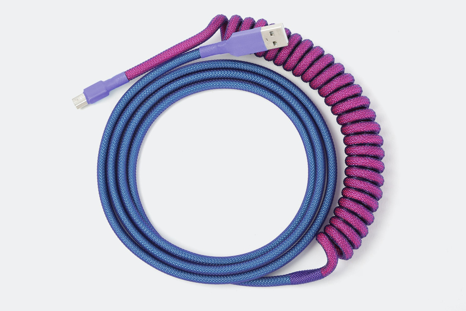Dual Color (Hot Pink, Turquoise) – Coil