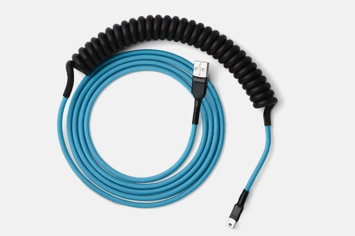 Mechcables Pulse v2 Custom Coated-Coil USB Cables
