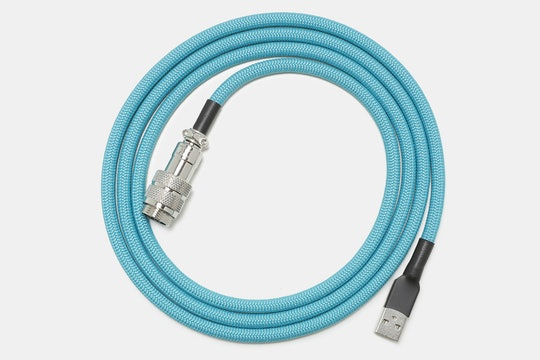Mechcables Pulse v3 Custom-Coated Coil USB Cables