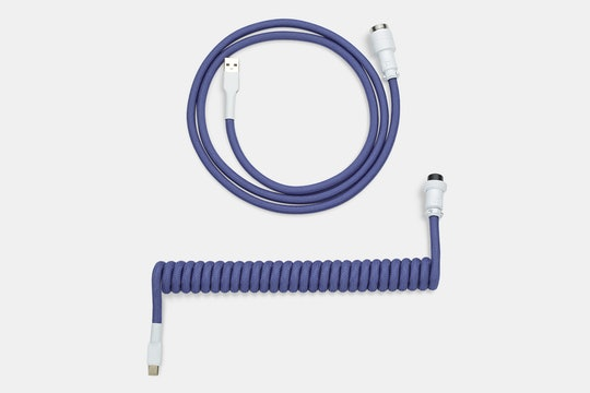 Mechcables Serenity Custom Coiled Aviator USB Cable